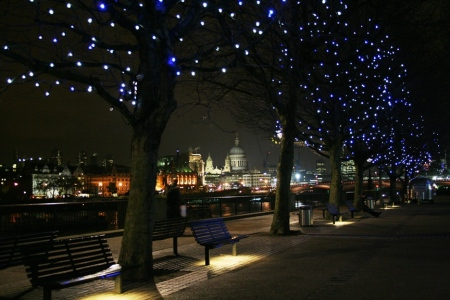 Coldplay Christmas Lights Video Shoot Location